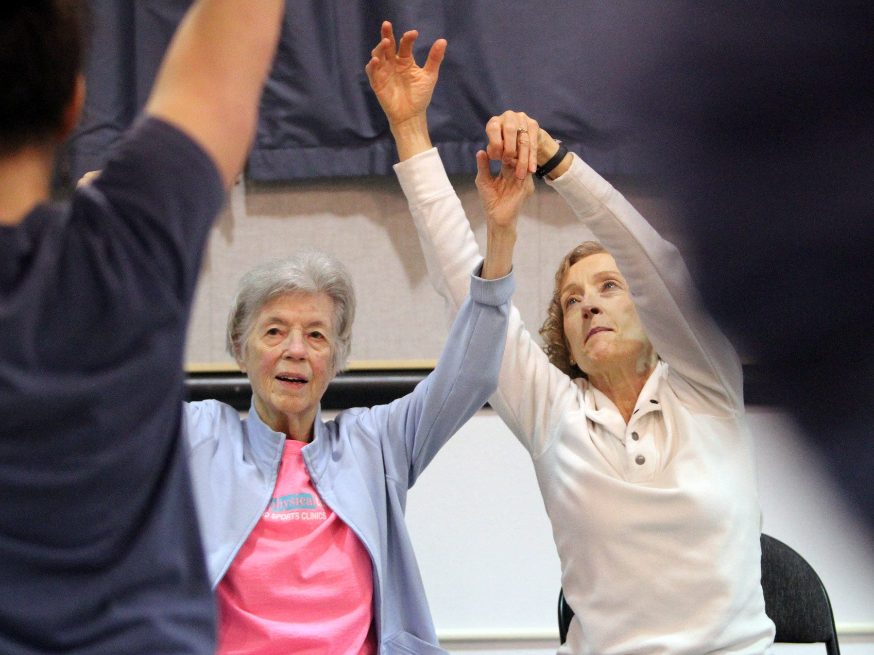 Dance for Parkinson's class at Bainbridge Senior Center.