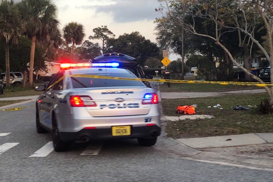 Police in Rockledge probe shooting of passenger on Sunday.