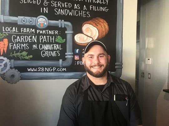 28 North Gastropub chef Kyle Hash