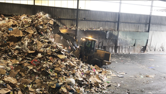 Your blue-bin recycling takes a rough, loud trip through Chittenden Solid Waste District's recovery center in Williston. (Produced Feb. 4, 2019)