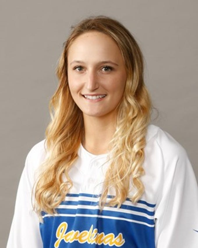 Texas A&M Kingsville sophomore Loren Kelly (Rockport):  Started all 55 games in her first year in Kingsville, in which she stole 30 bases, the second-highest, single-season total in program history.