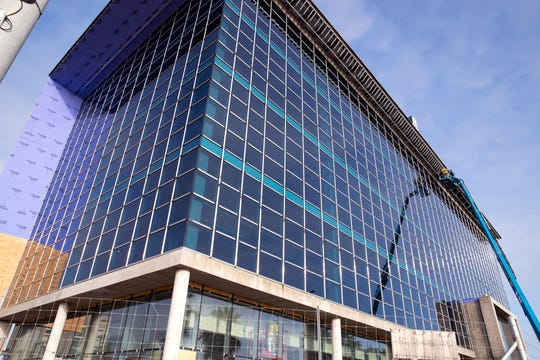 San Antonio-based Frost Bank established a regional headquarters building on south Shoreline Boulevard in Corpus Christi just weeks before the coronavirus pandemic erupted.