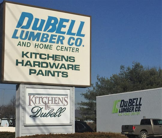 This DuBel Lumber Co. store on Cuthbert Boulevard in Cherry Hill closed in February.