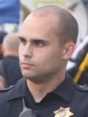 Officer Jerrid Lee, Clearcreek Township Police