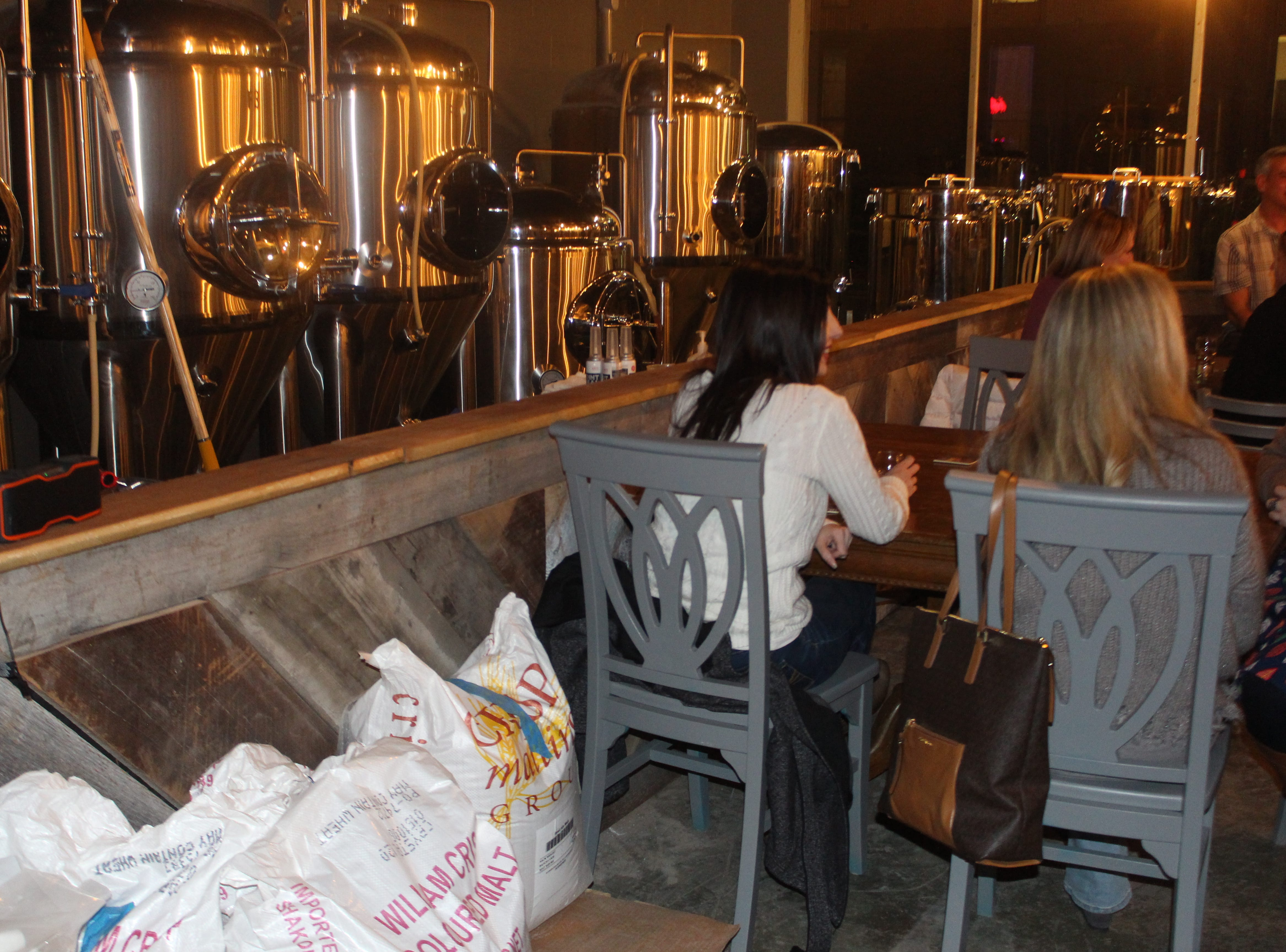 Kings Bluff Brewery just opened in downtown Clarksville on University Avenue.