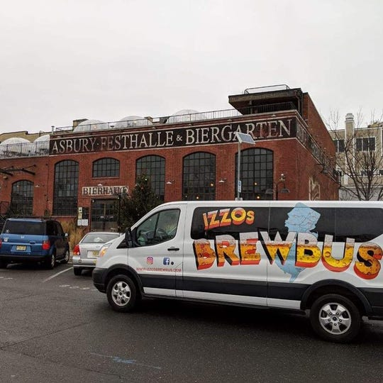 Izzo's Brew Bus can take up to 15 people to four breweries in a single day.
