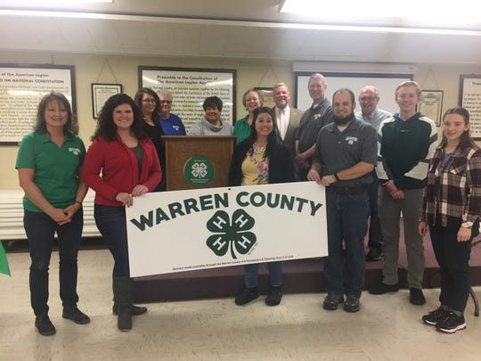 State Rep. Scott Ourth attended the Warren County 4-H soup supper fundraiser on Jan. 26.