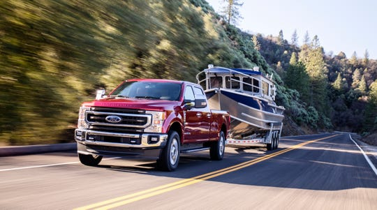 The 2020 F-450 Super Duty pickup will be able to tow more than 34,000 pounds.