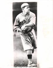 Babe Ruth, who hit 714 home runs, also made 13 appearances on the mound in Detroit with the Red Sox.
