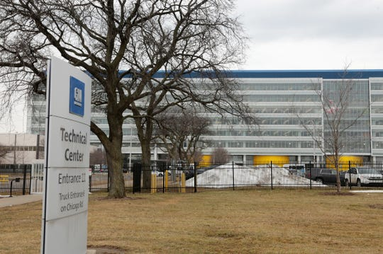 General Motors Technical Center in Warren on Monday, February 4, 2019.