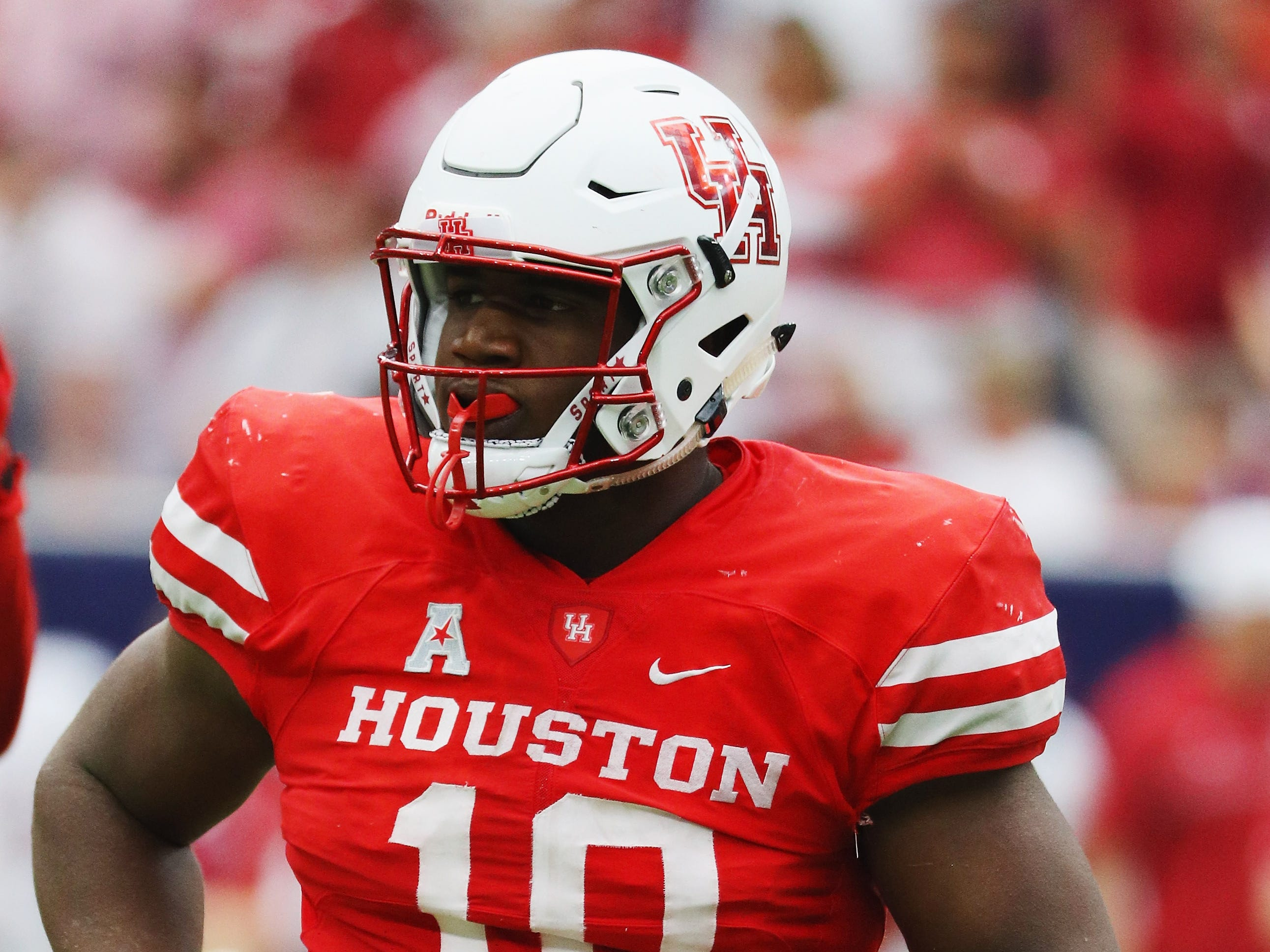 9. Buffalo Bills — Ed Oliver, DT, Houston: Kyle Williams' retirement leaves a big hole in the middle of the Bills defensive line. Oliver fills that void well. The athletic playmaker recorded 53 tackles for loss in three college campaigns.