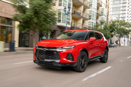 The new Chevrolet Blazer had been hailed as the right product for the times, but it's not turning out that way amid a building frenzy for SUVs with true off-road looks and capability.