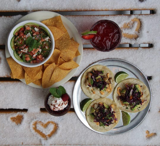 For Valentine's Day Imperial in  Ferndale has seared swordfish tacos, strawberry margaritas and more.