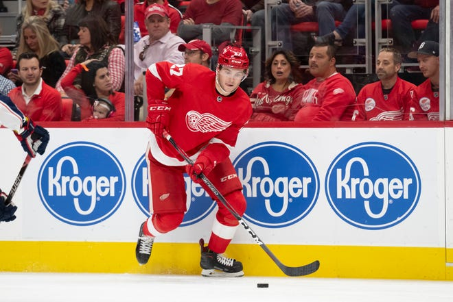 Red Wings prospect Michael Rasmussen has been loaned to the Graz 99ers of the Austrian Hockey League.