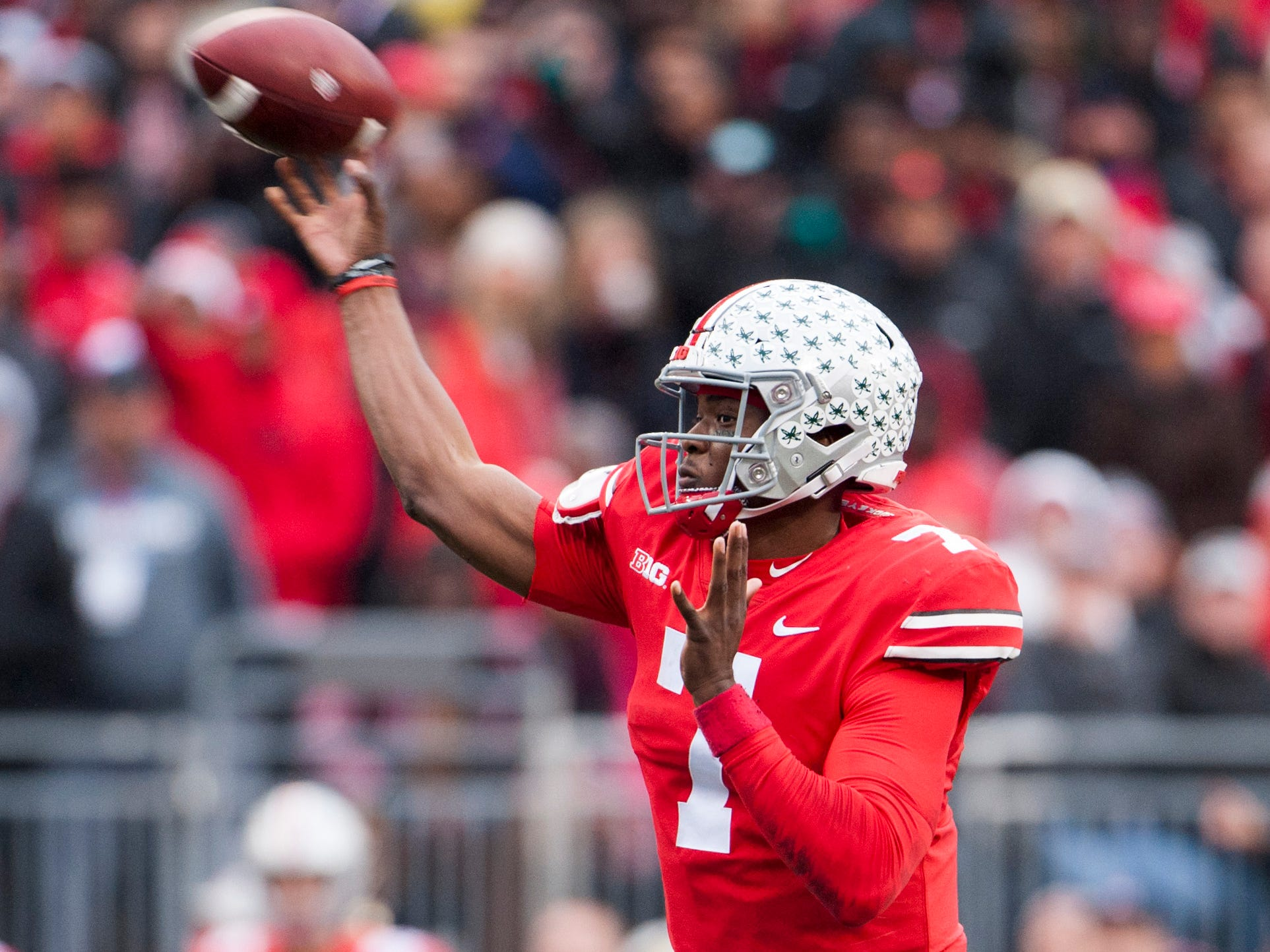 6. New York Giants — Dwayne Haskins, QB, Ohio State: The Giants made a bold move last season, passing over a quarterback at the top of the draft to take Saquon Barkley. They can't skip getting Eli Manning's replacement a second time.
