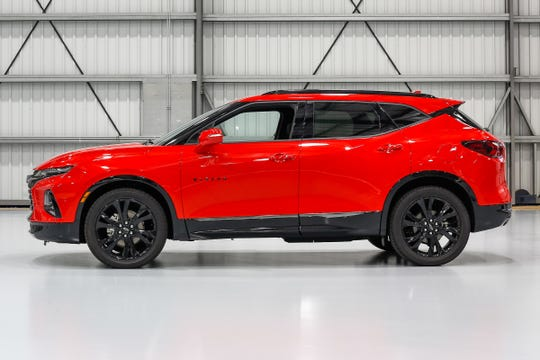 With the Blazer, Chevy enters a market currently led by the stalwart Jeep Grand Cherokee, Ford Edge and Nissan Murano.