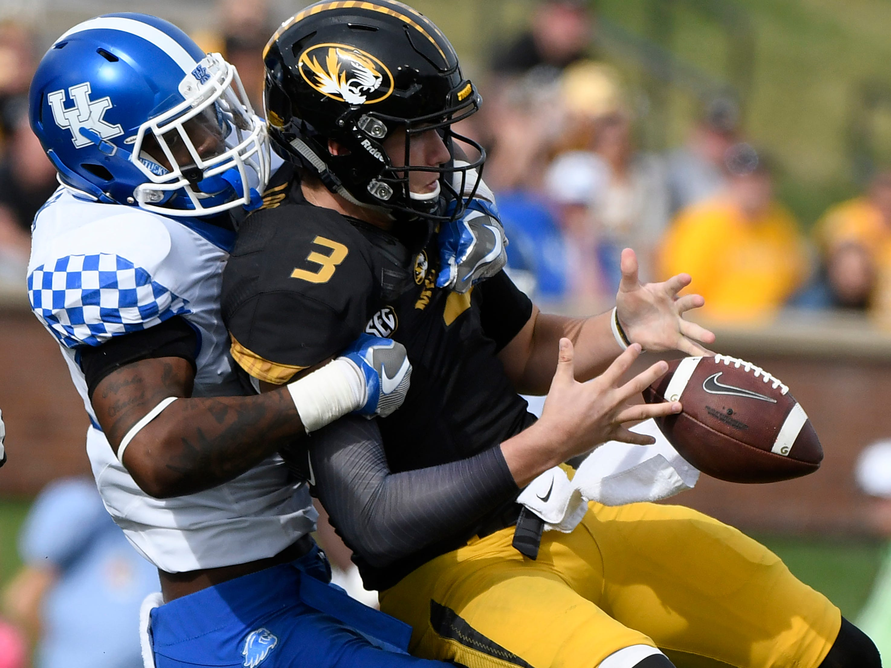 4. Oakland Raiders — Josh Allen, DE/LB, Kentucky: The Raiders traded away Khalil Mack, then went on to finish with a league-low 13 sacks. How bad was that? The Patriots and Giants were the next worst teams with 30. Allen developed into one of college football's best pass-rushers last season and should help close the gap.