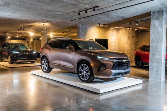The new Blazer is priced closer to the larger Traverse at $29,995 on a base model and $43,895 on the top-level Premier trim.