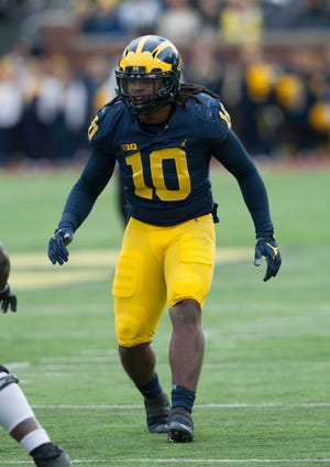 Former Michigan linebacker is a potential first-round NFL draft pick in 2019.