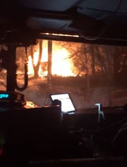 Firefighters responded to a house explosion in Pontiac early Sunday.