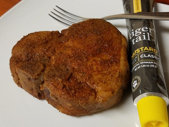 Pork chop from Carne Asada in Evansville.