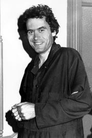 This is a June 1978 photo of Theodore Bundy in Pensacola, convicted murderer of two Florida State University coed women.