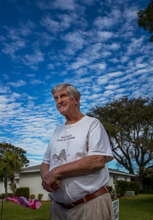 Cape Coral resident Carl Veaux was recently awarded the Environmental Stewardship Award by the Florida Department of Environmental Protection.