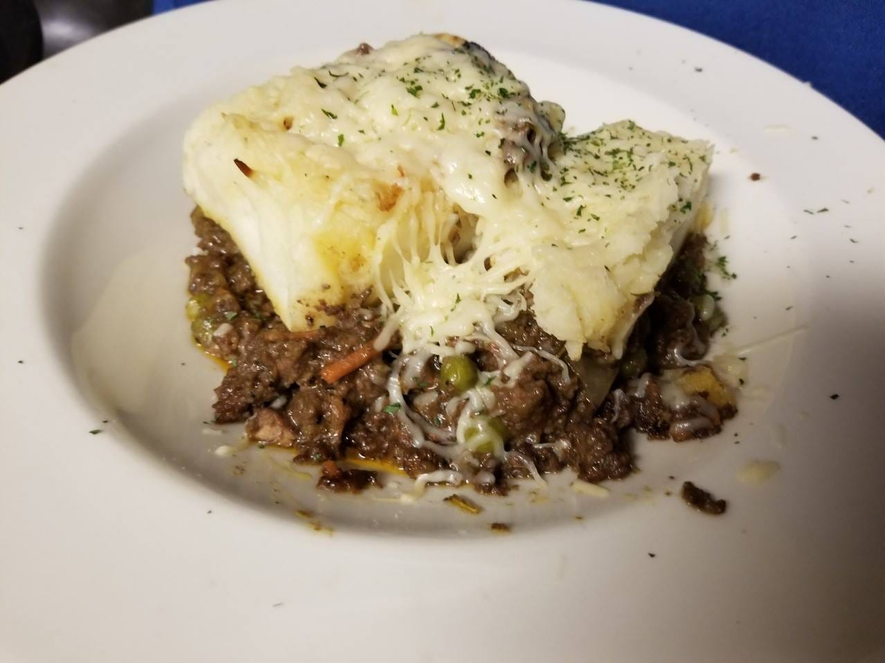 Shepherd's pie has been a longtime Clancey's tradition, and it remains on the menu at the Fort Myers restaurant.