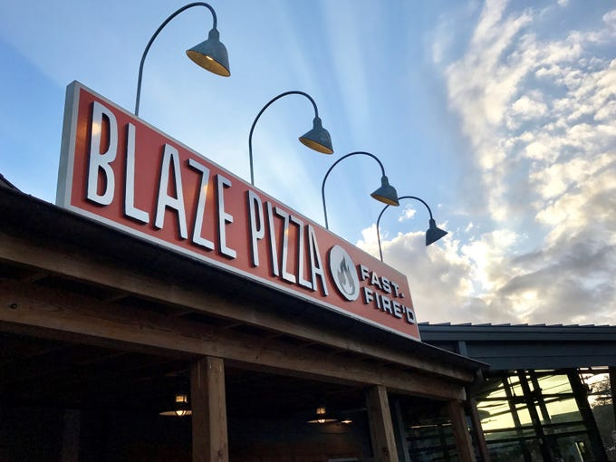 Blaze Pizza is coming to a 2,800-square-foot outparcel near Bealls at Cypress Trace shops in south Fort Myers. Shown is the fast-fired pizza chain's location in Disney Springs.