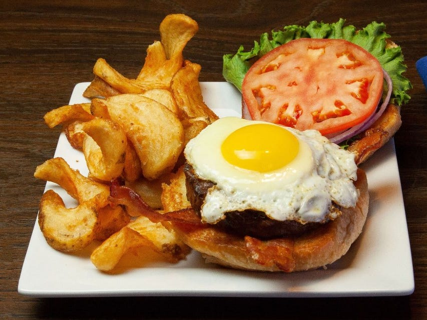 In addition to traditional Irish pub fare, Clancey's offers burgers and soul-food classics such as braised oxtails.