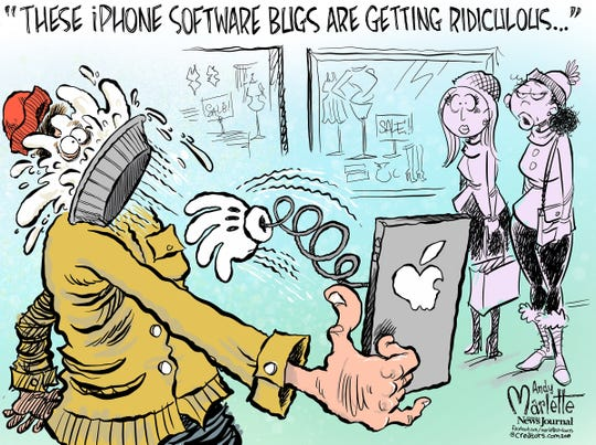 iPhone software commentary from Andy Marlette