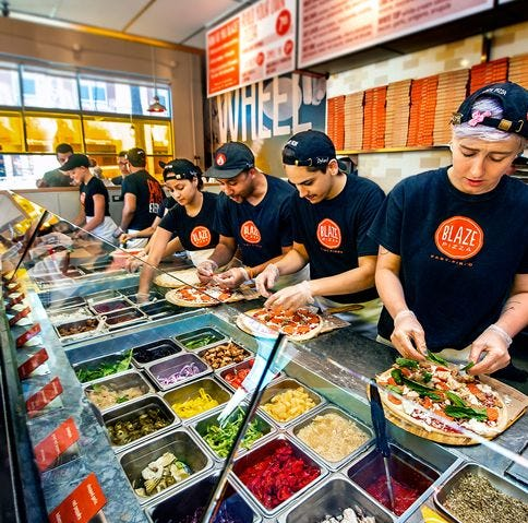 Blaze Pizza coming to Fort Myers: Fast-casual chain touts LeBron James as an investor