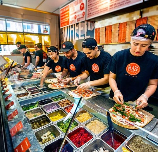 Blaze Pizza, a fast-casual pizzeria chain that's drawn comparisons to Chipotle, plans to open a restaurant in south Fort Myers by late fall 2019.
