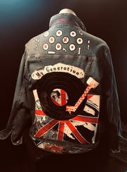 """Under the heading of """"wearable art,"""" this jacket matches the """"British Invasion"""" theme."""