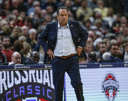 Mike Brey is in his 19th season at Notre Dame.