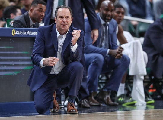 Mike Brey had thoughts of leaving Notre Dame, but was talked out of them by his former boss, Coach K.