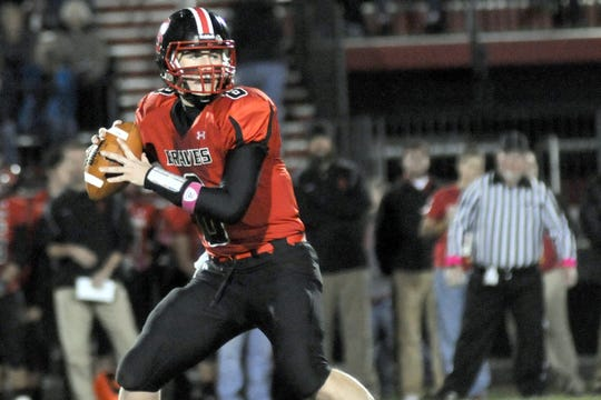 Terre Haute South quarterback Danny Etling is considered the crown jewel of Purdue?s 2013 recruiting class.
