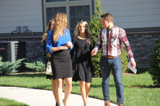 "Josie (Bates) Balka and Kelton Balka look for an apartment on an episode of ""Bringing Up Bates."""