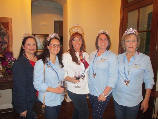 Wendy Carroll, Angelle Patin, Stephanie Fakier, Rachel Lasseigne and Elaine Morrow