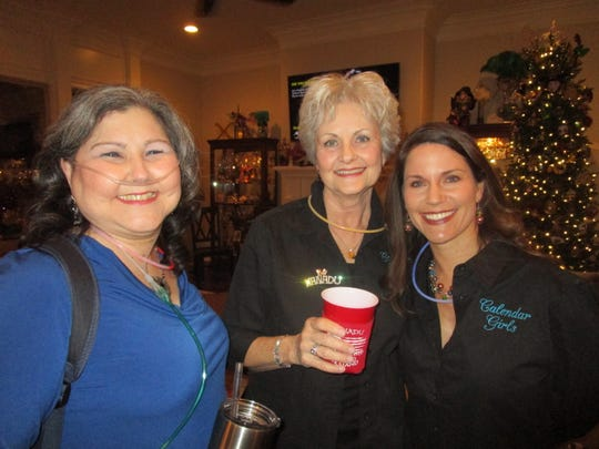 Lena Myers, Cyd Begnaud and Julie Broussard