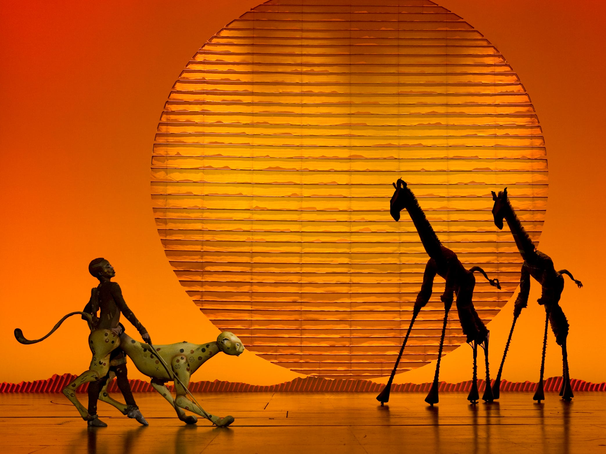 """""""Disney's The Lion King"""" returns to the Kentucky Center during PNC Broadway in Louisville's 2019-20 season."""