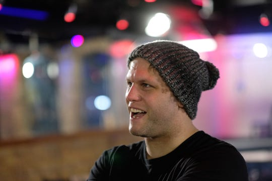 Kyle Hickman is a floor manager at Omar's Show Bar and the promoter for all-male stripper dance team.