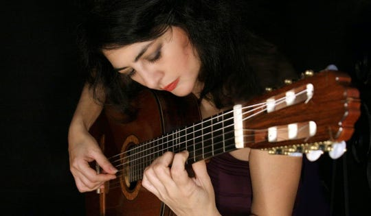 Lily Afshar leads the 7th annual Memphis International Guitar Festival.