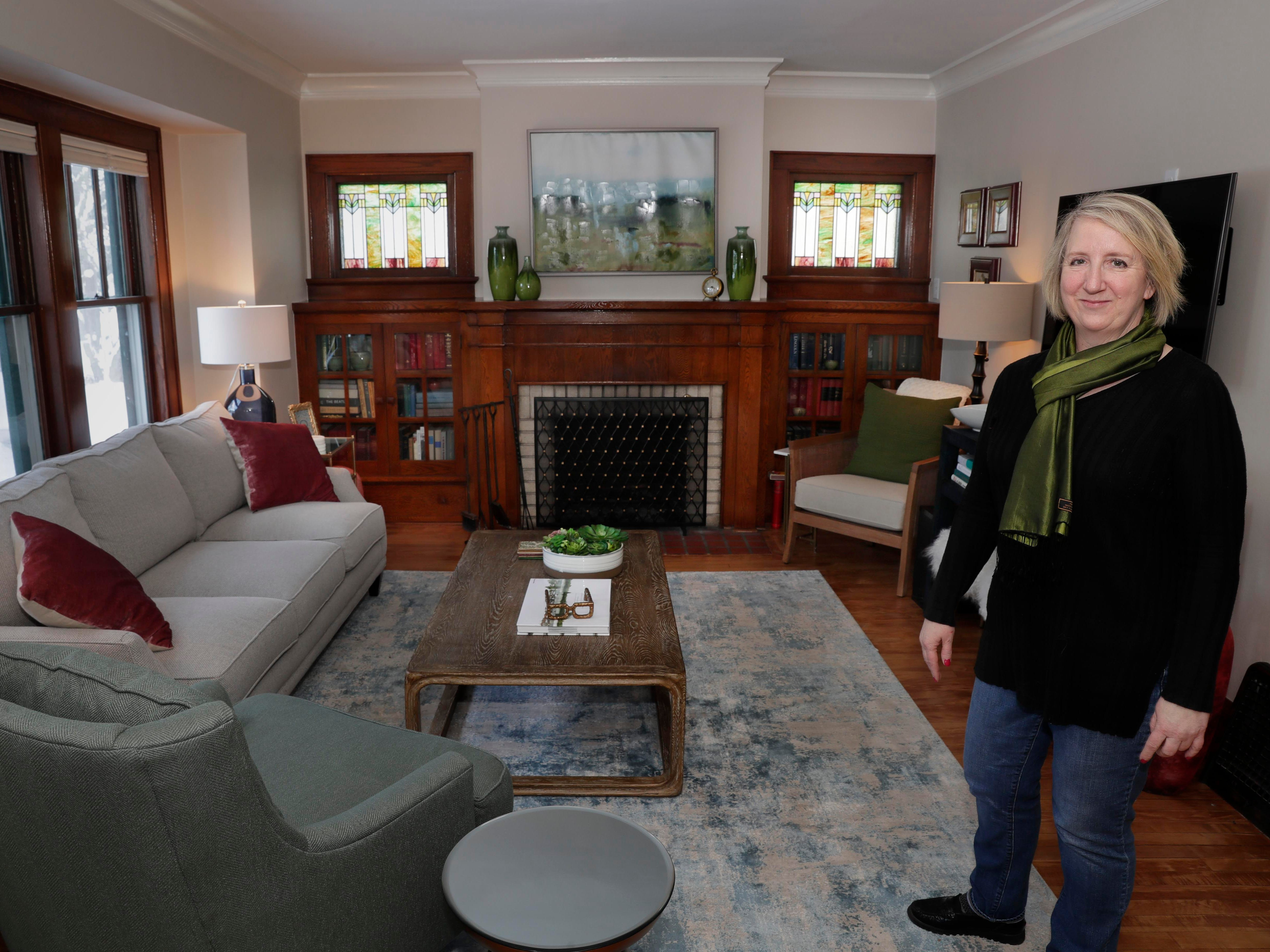 Aileen Smith's new home is just a few blocks from the home she and her late husband purchased and where their two children were raised.