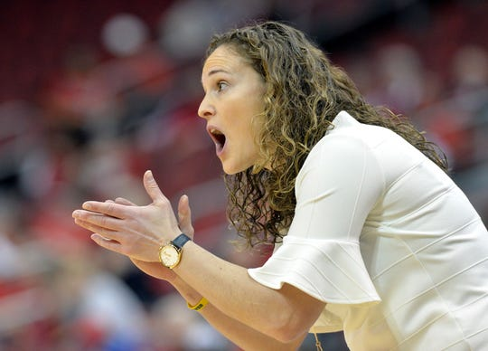 Marquette women's basketball coach Carolyn Kieger saw her team run its Big East record to 10-0 with a victory over rival DePaul on Sunday in Chicago.