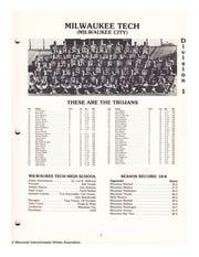 1986 Milwaukee Tech football team