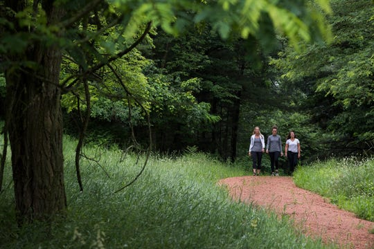 Sundara added hiking trails and now offers guided hikes at the resort's 26-acre property in Wisconsin Dells.
