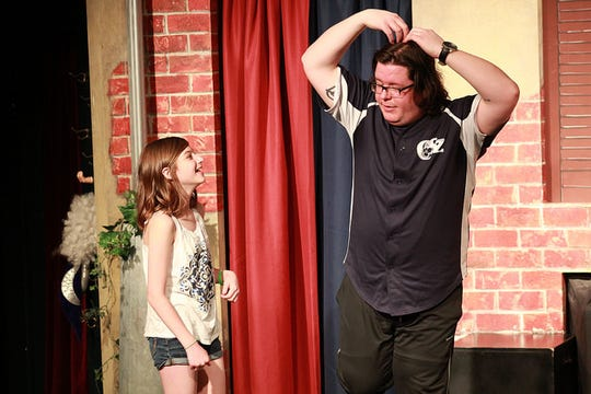 The Saturday afternoon shows at Comedy Sportz are family friendly.