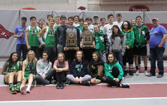 The Yellville-Summit Lady Panthers won the 2A/1A State Indoor track and field championship, while the Panthers finished as state runner-up at Fayetteville.