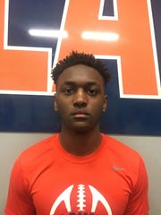 Blackman junior WR/DB Keionte Newson.